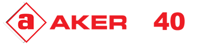 Aker Leather Logo