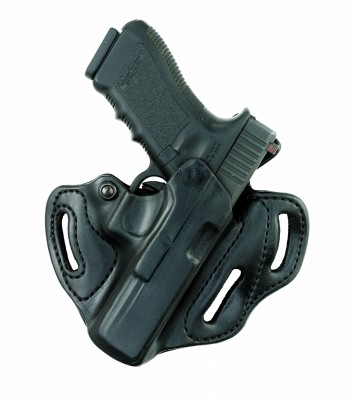 Classic 3 Slot Open Top Pancake Holster Model Number: 166A