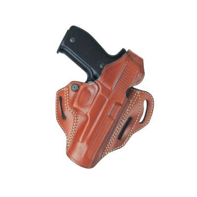 Classic 3 Slot Pancake Holster Model Number: 166