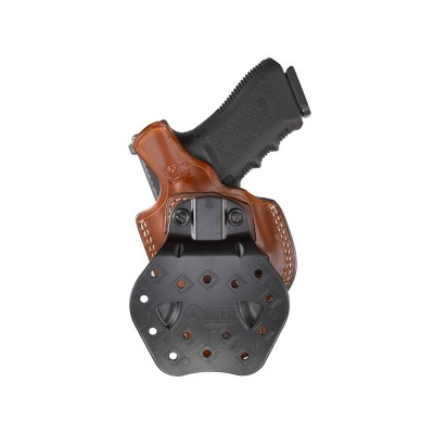 268a Flatsider Xr19 Open Top Paddle Holster Aker Leather